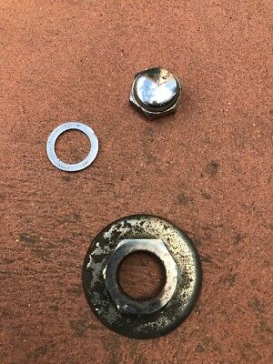 Triumph Sprint ST Triple Tree Top Nut And Washer 1999-2001  RS OEM