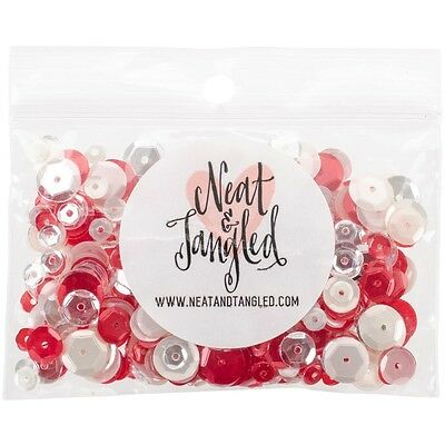 Neat & Tangled Sequin Mix - Peppermint Stick