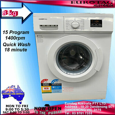 Eurotag 6Kg Top Loading Washing Machine Whit Air Jet Dry Brand New