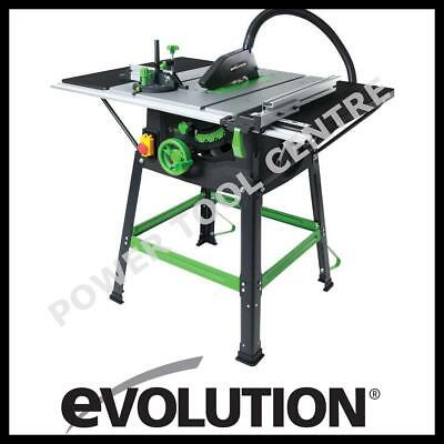 Evolution FURY5-S 056-0001 255mm Multi Purpose TCT Rage Table Saw 230 240v Volt