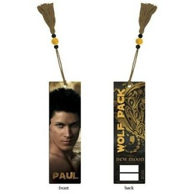 Twilight Saga New Moon Paul Bookmark - Neca Necathe Wolf Pack