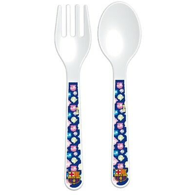 Barcelona Unisex Official Cutlery Set (pack Of 2), Multi-colour - 2 Piece Baby