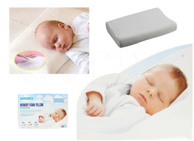 Memory Foam Cot Bed Pillow Nursery Junior Kids Baby Toddler Comfort Pillows New