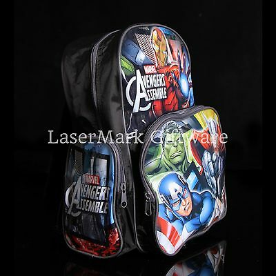 Brand new kids toddlers Avengers backpack school bag Free Shipping