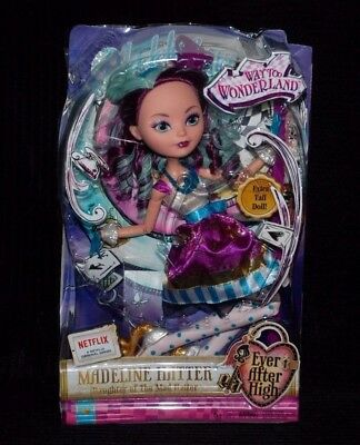 Ever After High Way Too Wonderland Madeline Hatter Extra Tall Doll BNIB