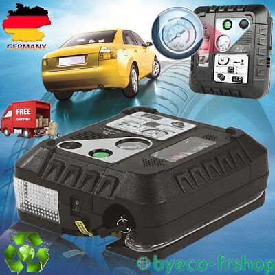 DC 12V Mutifunction Electric Auto Air Compressor Pump And Car Tire Inflator WR