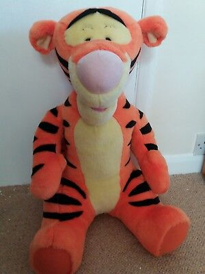 Large 21 inch Talking Tigger Soft Toy -