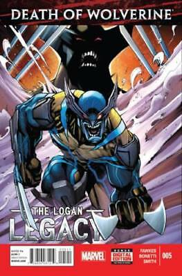 Death Of Wolverine The Logan Legacy #5  (2016) 1St Print Bag & Boarded