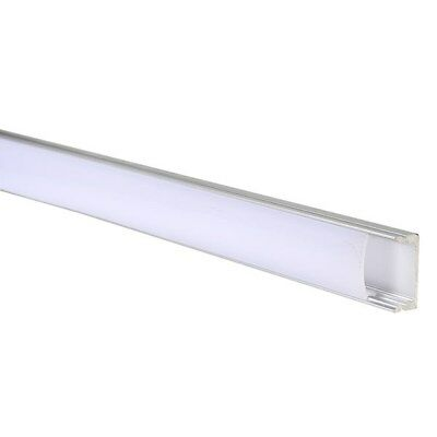 TruOpto SAP-YD1205-1M Flat Aluminium Profile for LED Strips 1000x17x7mm