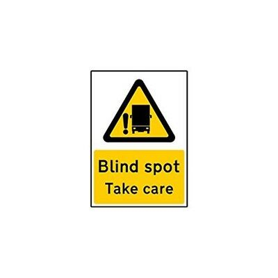 Blind Spot Take Care Self Adhesive Vinyl Sticker (small) - Warning Sign Small