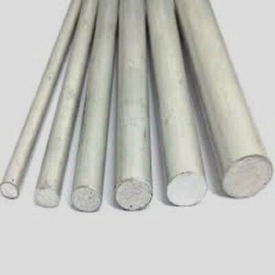 Aluminium Round Bar / Rod For Model Making Various Sizes 3mm to 20mm Available