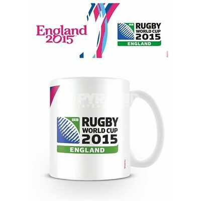 Rugby World Cup Ceramic Mug - 2015 New Boxed England 2003 Six Nations Grand