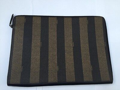 Authentic - Vintage Fendi A4 Document Holder / Case - New
