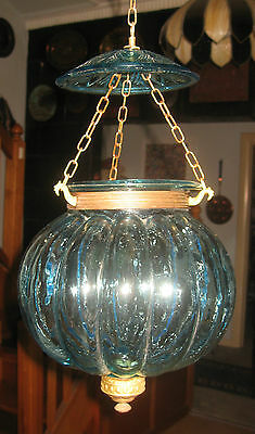 Antique Val St. Lambert Melon Lamp Shade : Price Reduced!!