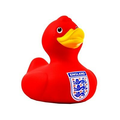 England Bath Time Duck - Red - Fa Official Football Rubber Toy Team New