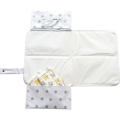 Dooky 3 In 1 Changing Pack Silver Stars - Original 126467 Baby Bag