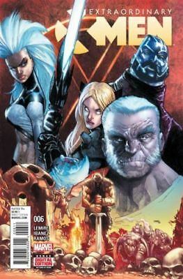 Extraordinary X-Men #6 (2016) 1St Printing Marvel Comics
