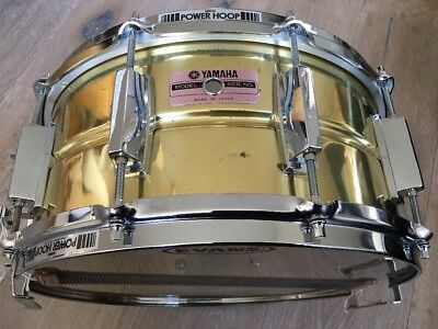 Yamaha sd265 steel snare drum picclick uk for Yamaha stage custom steel snare drum 14x6 5