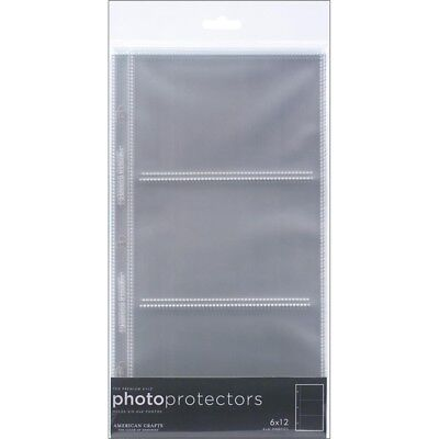 """6"""" x 12"""" Page Protector Pockets - 6 We R Memory Keepers Photo 12 4 Photos"""