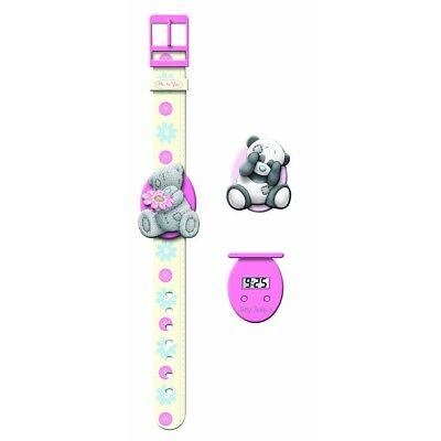 Me To You Girl's Quartz Watch With Lcd Dial Digital Display And Multicolour -