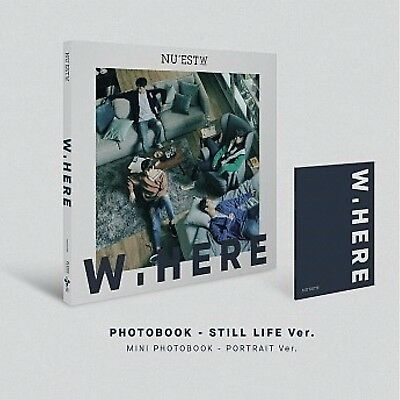 [NU'EST W] W, Here Sealed New Album Still Life Ver. CD+Booklet+Photocard 뉴이스트