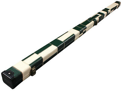 One Piece Patchwork Slimline Snooker Cue Case With Single Slot G61547