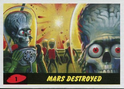 Mars Attacks The Revenge 2017 Complete 55 Card Base Set
