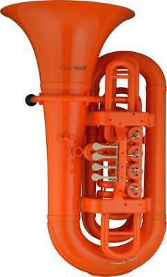 Coolwind Tuba CWTU200OR orange, Gewicht nur 5,5 Kg ! 4 Zylinderventile