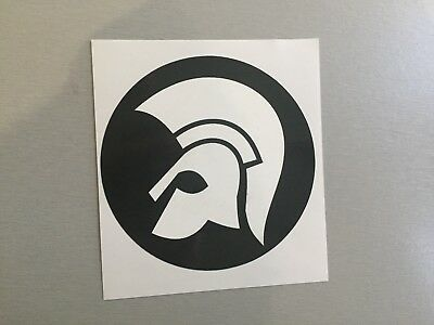 New 95mm Circular Vinyl Window Sticker skinhead specials trojan ska scooters mod