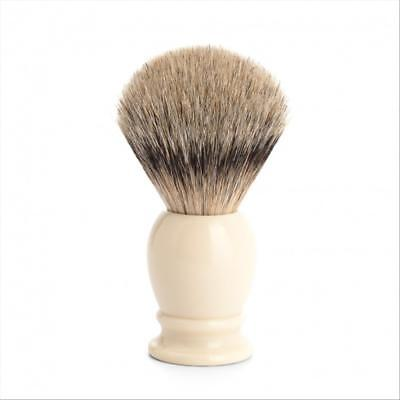 Pennello Da Barba Muhle 93K257 Silver Tip Shaving Brush Tasso Argentato Germany