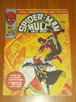 Spiderman And Hulk British Weekly Winter Special 1980 Marvel