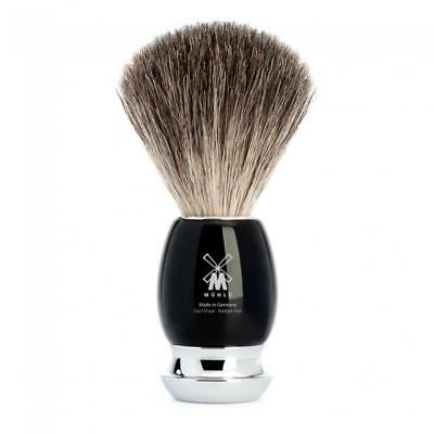 PENNELLO DA BARBA TASSO MUHLE 81m336 SHAVING BRUSH  MADE GERMANY