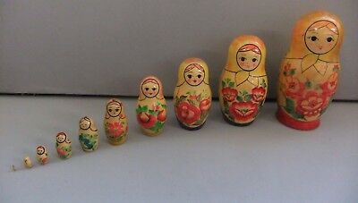 Russian Doll 10 Piece Set