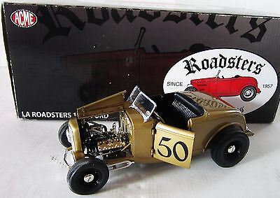 LA ROADSTER 50th ANNIVERSARY 1932 VINTAGE FORD ACME ONLY 522 MADE 1:18 DIECAST