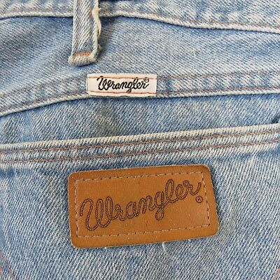 14ef0851 Vintage Wrangler Jeans Men's Tag Size 38x34 (Actual 36x33.5) Made in the