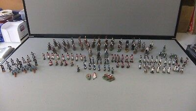 Collectable Metal Soldier Collection 122 Pieces
