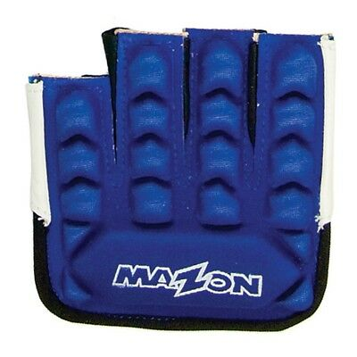 Moyen Mazon Bleu Z Force Knuckle Gant - Hockey Cuir Gants Protection De Gardien
