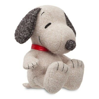 "PEANUTS 7.5"" Snoopy Retro Plush Cuddly Soft Toy Teddy by AURORA Charlie Brown"