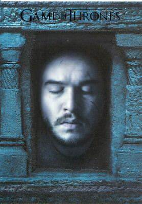 Game Of Thrones Season 6 Hall Of Faces Chase Card HF9 Jon Snow