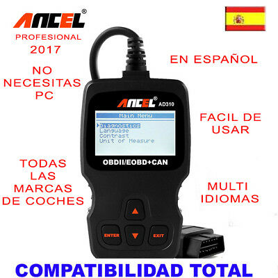 Maquina Diagnosis Ancel Pro+ Multimarca 2017 / Version Profesional Taller