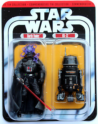 Star Wars 30Th Anniversary Tin Collection Two Pack Darth Vader / R5-J2 Hasbro