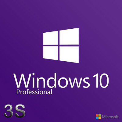 Windows 10 Professional Pro Retail Key 32 64 BIT - 100% - Licenza Multilanguage