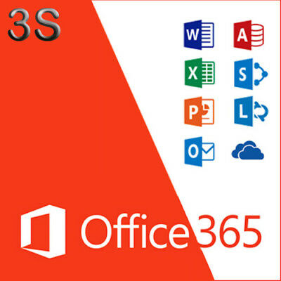 Microsoft Office 365 Home FULL VERSION for 5 Devices (Mac, Windows & Mobile)