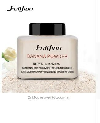 Banana Loose Powder Long Lasting Highlighter Foundation Makeup