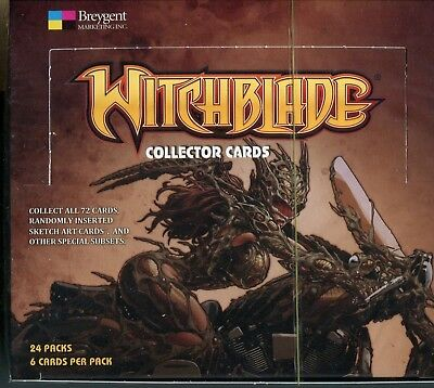 Breygent Witchblade Factory Sealed Trading Card Hobby Box