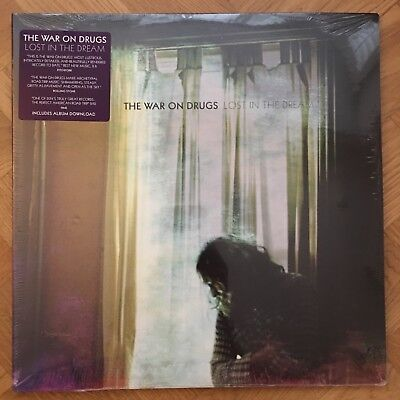 """The War on Drugs - Lost in the Dream (2x 12"""" Vinyl LP + Download) New & Sealed"""