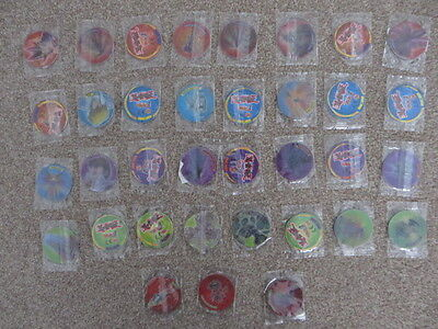 Yu-Gi-Oh! Complete set of 35 Walkers Tazo's/Pog's - New still sealed