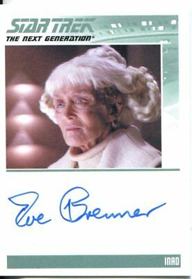 Star Trek The Complete Next Generation Series 2 Autograph Eve Brenner