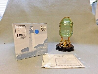 """Harbour Lights Collectors Society  """"fresnel Lens"""" 5Th Order #631"""