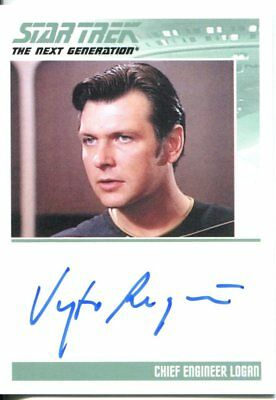 Star Trek The Complete Next Generation Series 2 Autograph Vyto Ruginis